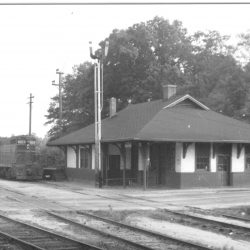 Passenger Train Station for the P & N