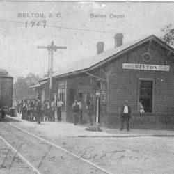 First Belton Depot