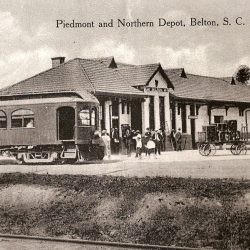 P & N Freight Depot - Torn down in the 1970s